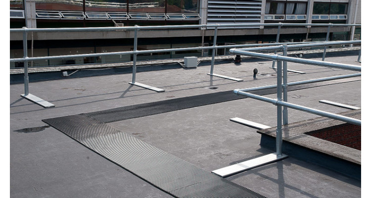 CrossGrip - PVC Roof Walkway Matting - 10m x 91cm