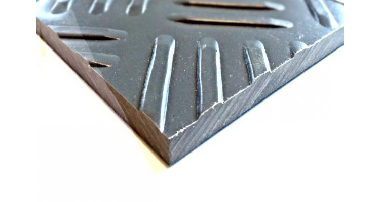 Used DuraMatt Lite Ground Protection Board - 1200mm x 550mm x 10mm - 16kg