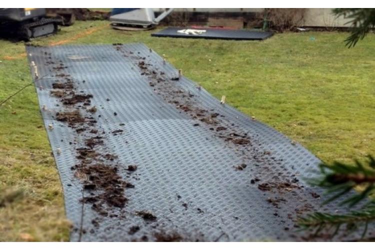 DuraMatt Lite Ground Protection Board - 2400mm x 1100m x 10mm - 32kg