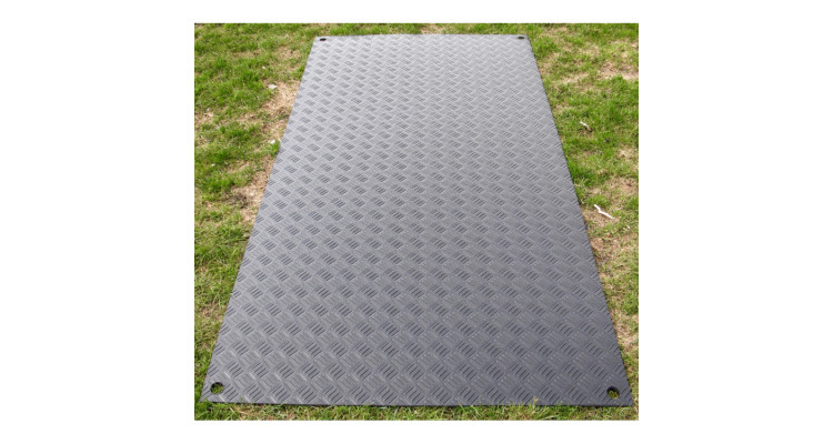 DuraMatt Single Sided Access Mat - 2400mm x 1100mm x 8mm - 24kg