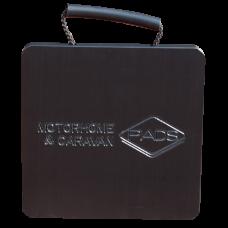 Flat Caravan Stabiliser Pad - 220mm x 220mm x 18mm - 0.94kg