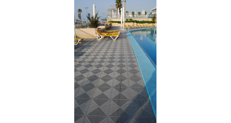Ecotile Lifestyle Flooring Tile Standard 380mm x 380mm x 10.3mm