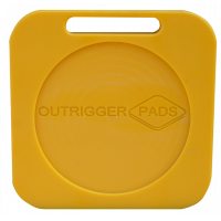 Hi-Pro Recessed Outrigger Pad - 400mm x 400mm x 40mm - 6kg