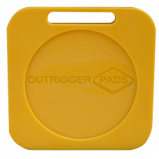 Hi-Pro Recessed Outrigger Pad - 400mm x 400mm x 30mm - 4.4kg