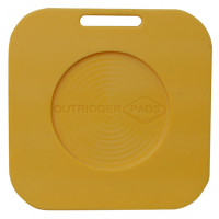 Hi-Pro Recessed Outrigger Pad - 600mm x 600mm x 40mm - 13kg