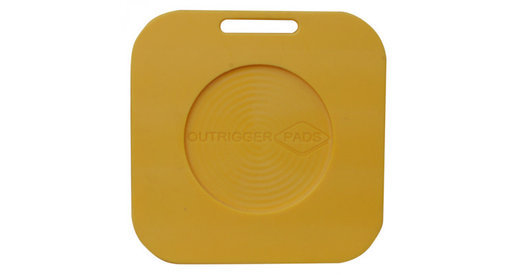 Hi-Pro Recessed Outrigger Pad – 600mm x 600mm x 40mm – 13kg