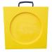 Hi-Viz Recessed Outrigger Pad – 400mm x 400mm x 40mm – 6.14kg
