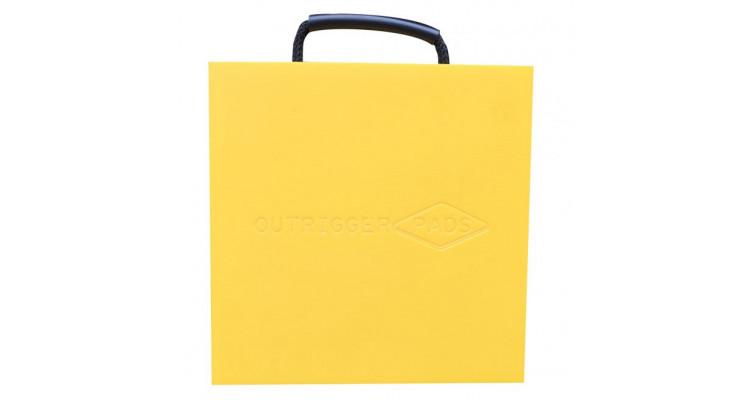 Hi-Viz Outrigger Pad – 400mm x 400mm x 40mm – 6.3kg