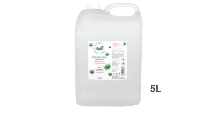 Anti-Bacterial Hand Sanitiser Gel - 5L