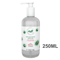 Anti-Bacterial Hand Sanitiser Gel - Pump 250ml