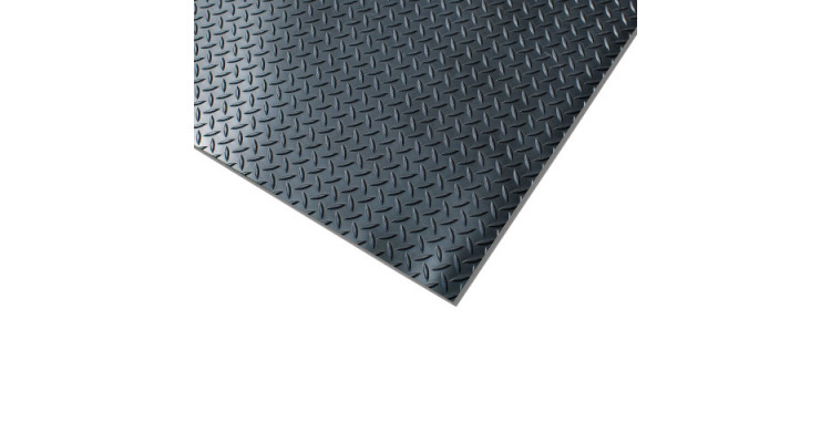 Chequer Plate Runner - 122cm x 1m