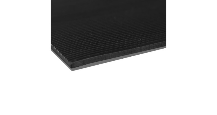 Rubber Rib Mat Electrical - 6mm x 122cm x 10m