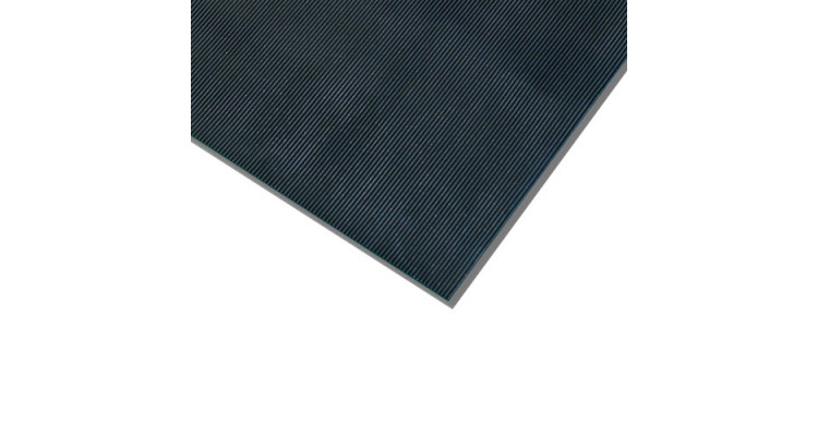 Rubber Rib Mat Electrical - 6mm x 100cm x 10m