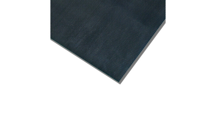 Rubber Rib Mat - 6mm x 915mm x 1m