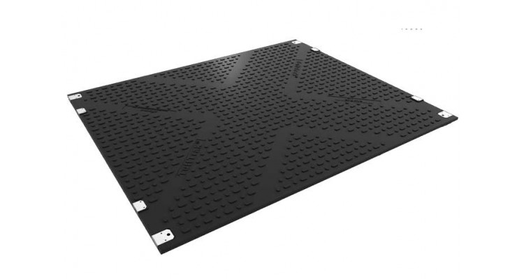 DavTrax Heavy Duty Trackway Panel 3000mm x 2500mm x 40mm 295kg