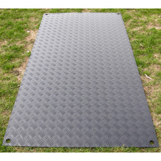 DuraMatt Medium Duty Access Half-size Mat - 2400mm x 600mm x 12mm - 17kg