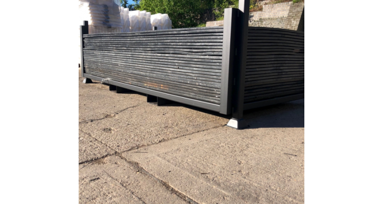 Ground Protection Mat Stillage - Holds 25 Mats