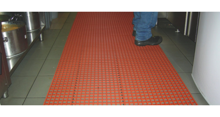 Herongripa Animal Fat Resistant Food Processing Anti-Slip Matting - 10m x 91cm