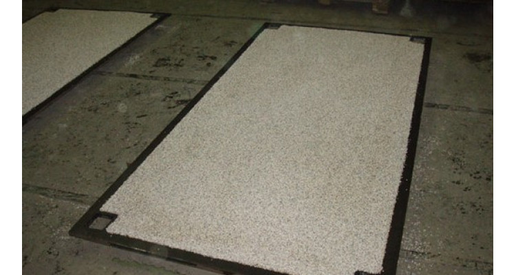Anti-Slip Steel Road Plate 2500mm x 1250mm x 25mm