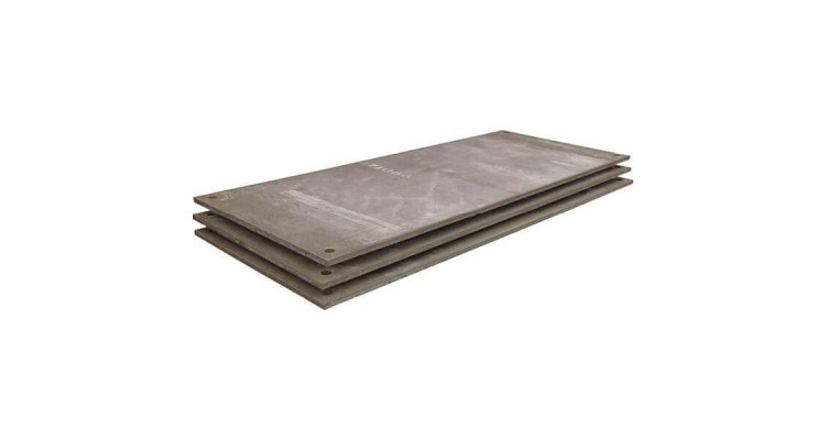Plain Steel Road Plates 2500mm x 1250mm x 25mm