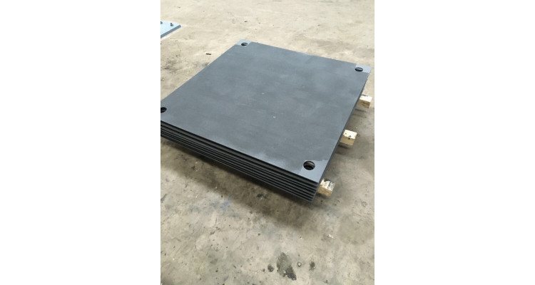 Plain Steel Road Plates 2500mm x 1250mm x 19mm