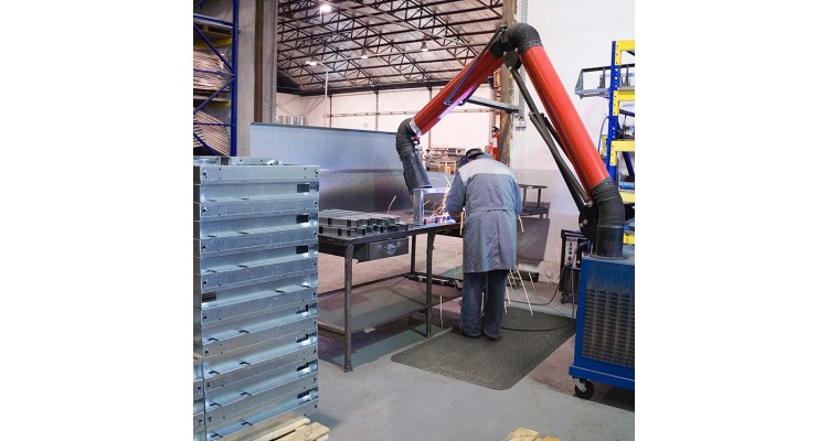 Spark Safe Slip Resistant Anti-Fatigue Hot Works Rolled Matting - 18m x 91cm
